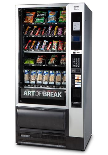 Rapid Vending - Välipala-automaatti - Necta Samba