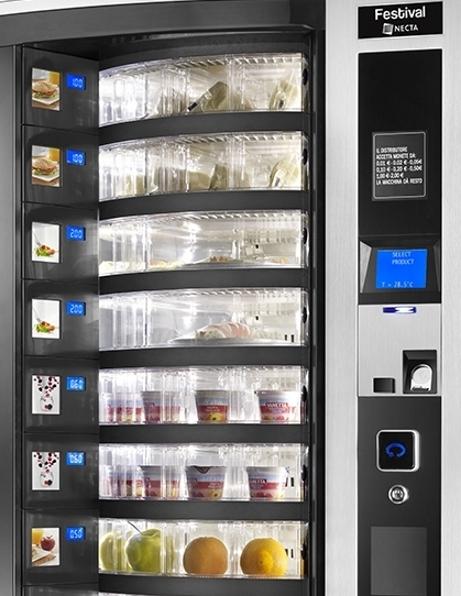 Rapid Vending - Kioski-automaatti - Necta Festival Small