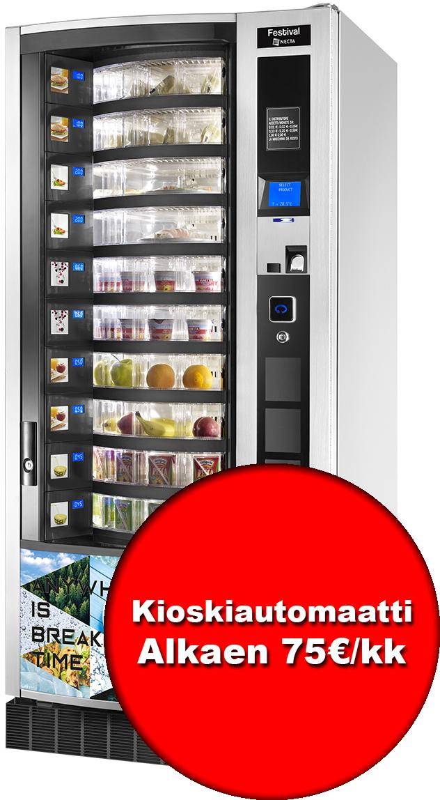 Rapid Vending - Kioski-automaatti - Necta Festival Big